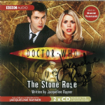 "Doctor Who ""The Stone Rose"" (CD COVER ONLY) signed by Jacqueline Rayner 2424"
